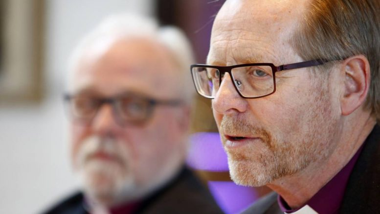 Generational shift: Three Norwegian bishops to resign in a few years
