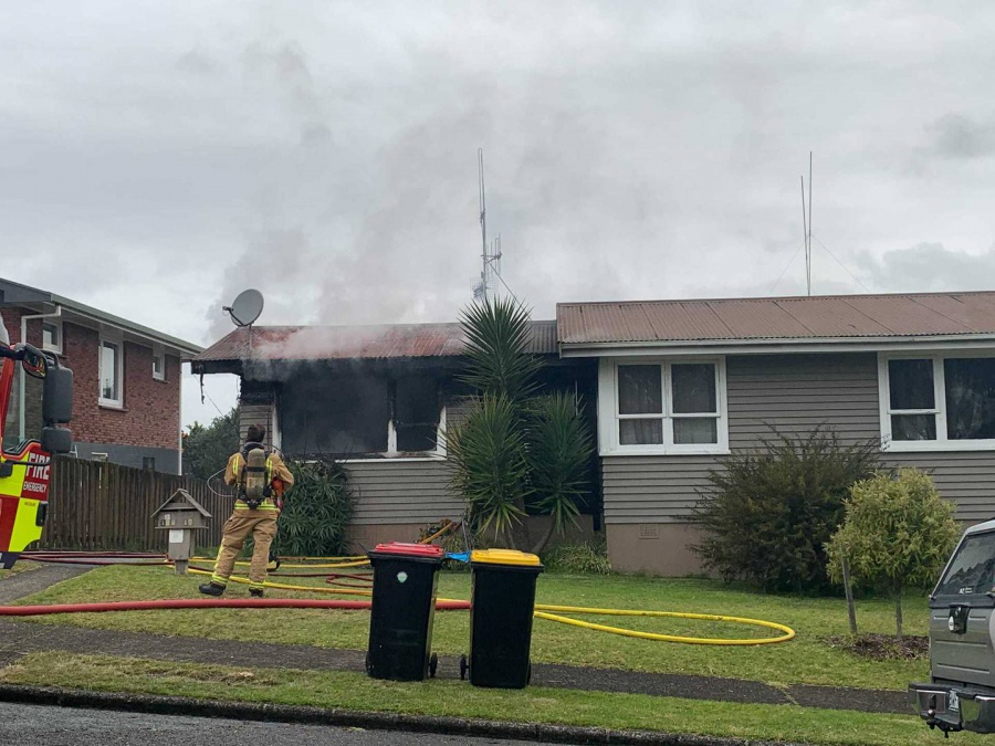 Cause of Tauranga's Brookfield house fire still unknown