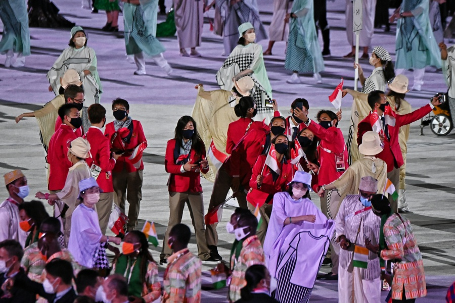 Tokyo Olympics: An opening ceremony like no other as Japan welcomes the world