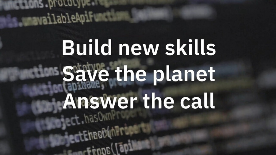 Software developer, Open source, IBM, Linux Foundation, Artificial intelligence (video games), Watson, 2019 Call for Code challenge