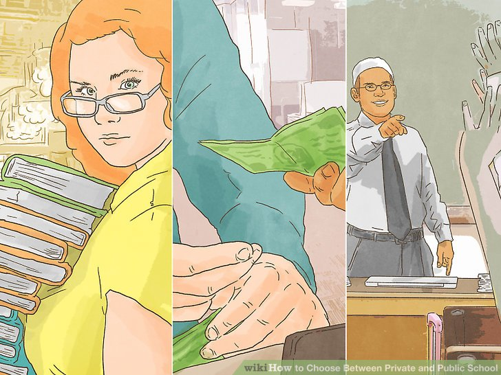 How to Choose Between Private and Public School