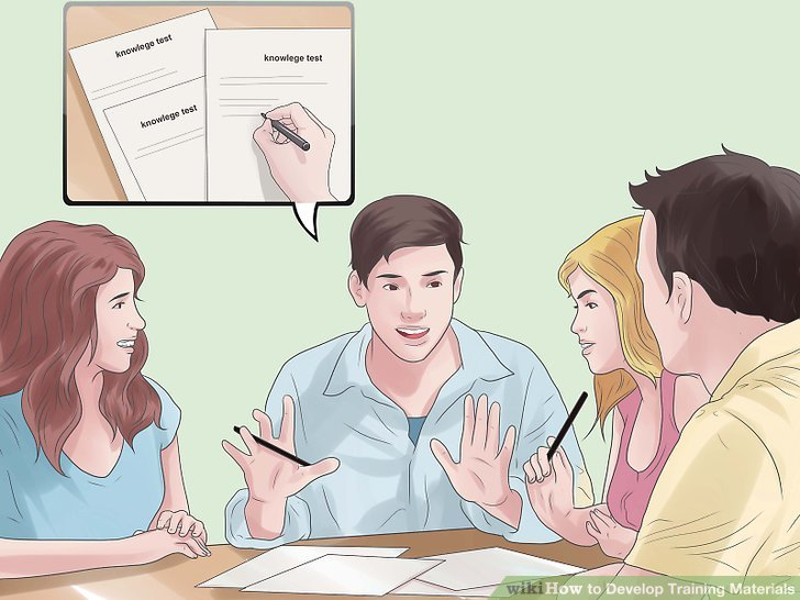 How to Develop Training Materials