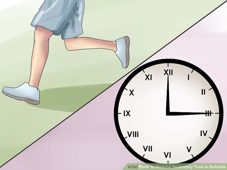 How to Reduce Sedentary Time in Schools