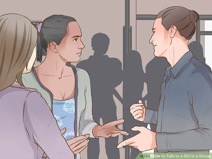 How to Talk to a Girl in a Group
