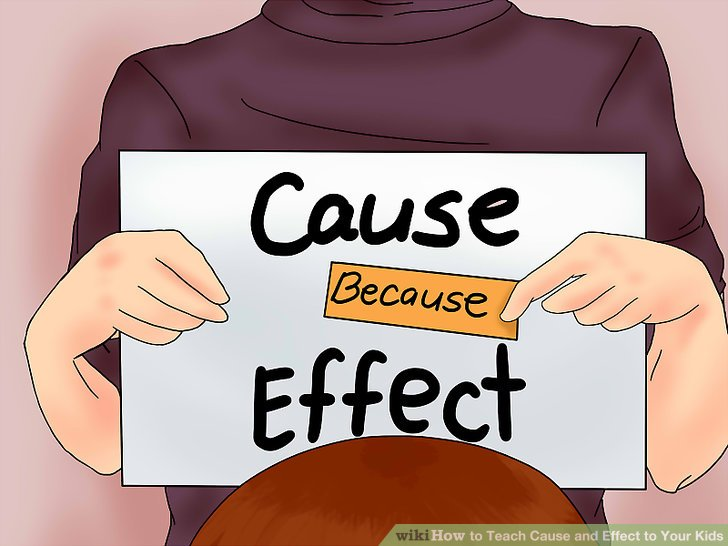 How to Teach Cause and Effect to Your Kids