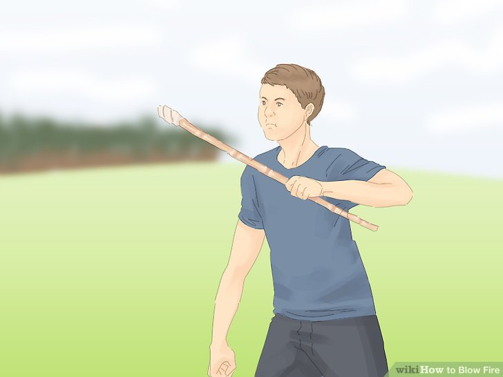 How to Blow Fire
