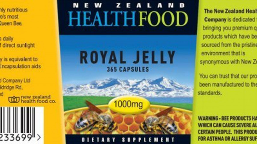 Christchurch-based New Zealand Health Food Company fined $377,000 over 'reckless' royal jelly labelling