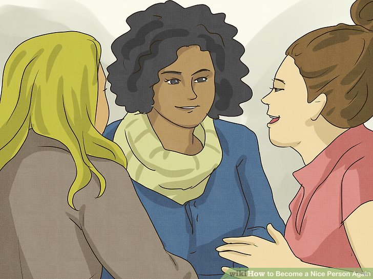 How to Become a Nice Person Again