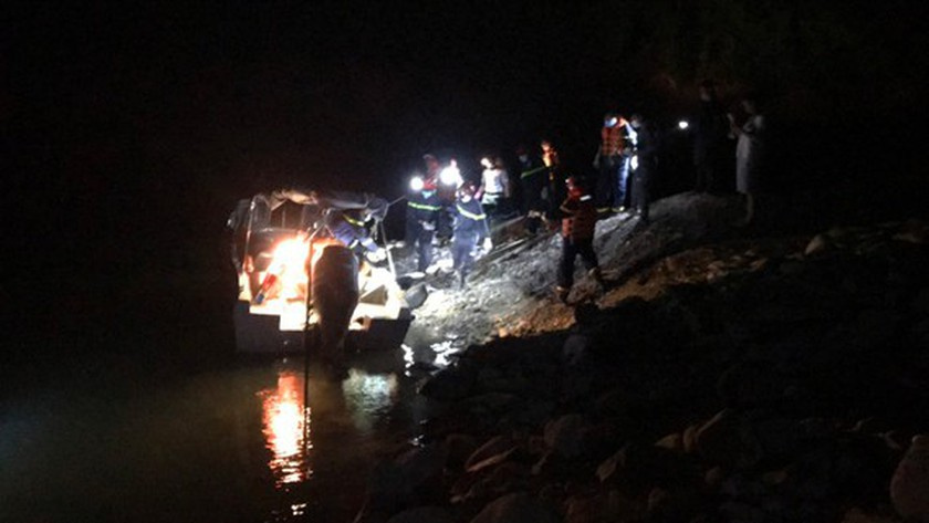 Search and rescue operation, Rao Trang 3 hydropower plant, Thua Thien Hue Province, landslide, missing workers