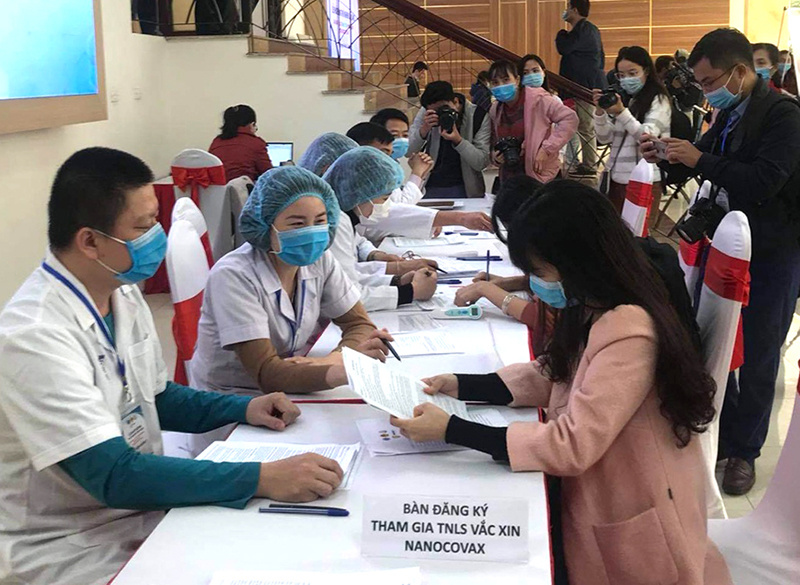 150 students, Covid-19 vaccination program, human trial