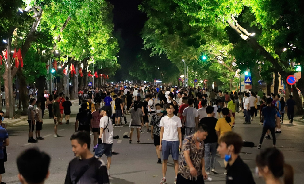 COVID-19 restriction, Hanoi pedestrian street, Old Quarter, resume activities, COVID-19 restriction, Hanoi pedestrian street, Old Quarter, resume activities
