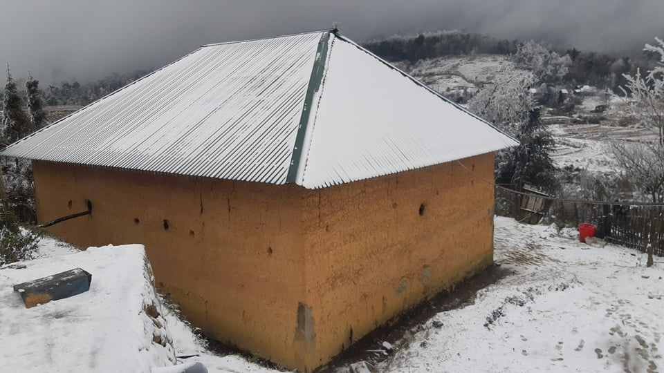 Northern commune Y Ty gets a fresh coat of snow - VnExpress International