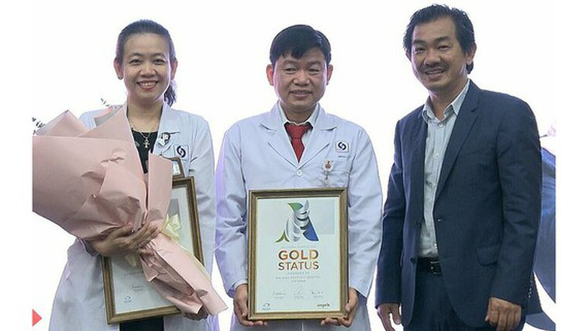Gia Dinh People's Hospital, WSO's Golden Status, Golden Status, golden window, golden hour, IV injection of recombinant tissue plasminogen activator (tPA), dissolving blood clots, blood flow