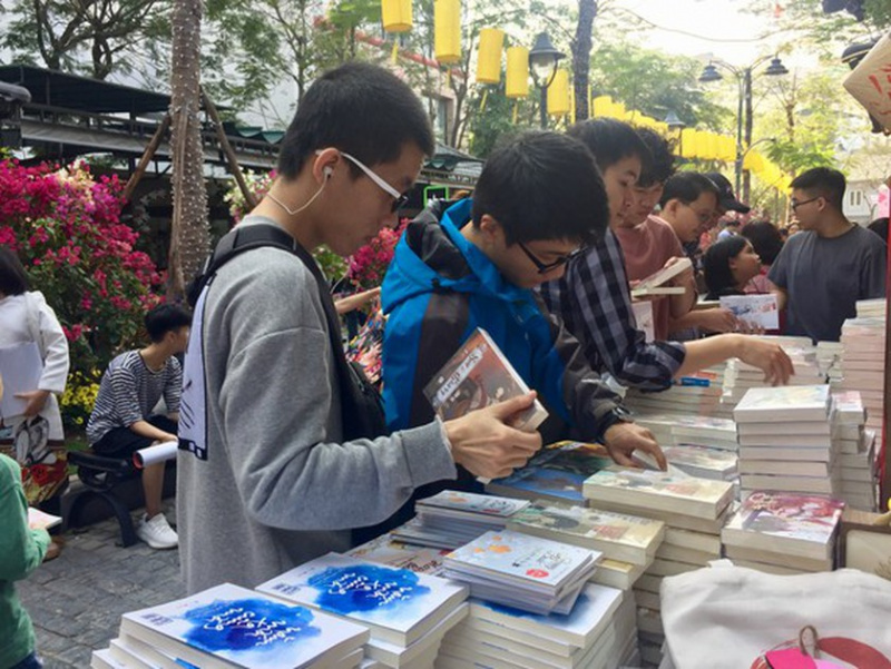 Online book festival 2021, free shipping, e-commerce trading floor, Book365.vn, Vietnam Book Day