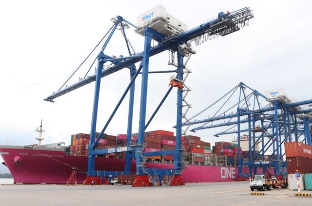 Tan Cang – Hai Phong can receive 132,900 DWT container ships from May 1