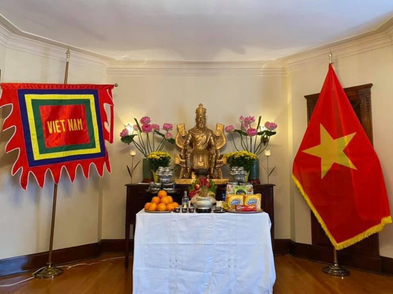 Canada, Hung Kings, COVID-19, Vietnamese Embassy in Canada, worship ceremony, Canada, Hung Kings, COVID-19, Vietnamese Embassy in Canada, worship ceremony