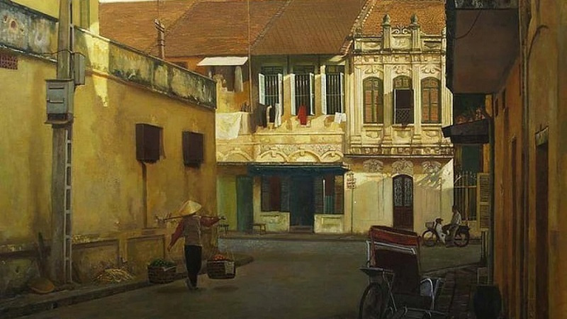Beauty of Hanoi; Hanoi paintings, Hanoian painters, Hanoi inspires contemporary painters