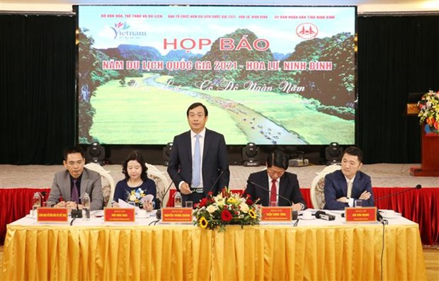 2021 National Tourism Year, Ninh Binh, national special heritage site, Hoa Lu ancient capital, vietnam news agency, Related stories Ninh Binh, 2021 National Tourism Year, Ninh Binh, national special heritage site, Hoa Lu ancient capital, vietnamplus, vietnam news agency,