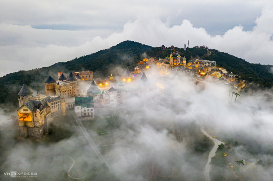 Da Nang, tourist attraction, clouds, Da Nang, tourist attraction, clouds