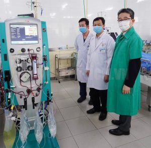 Japan provides COVID-19 treatment equipment to Cho Ray Hospital