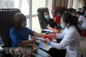 Nearly 2,000 people join blood donation drive in Thanh Hoa