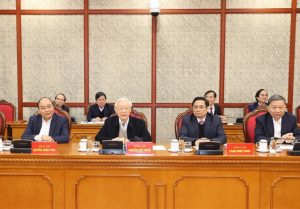 Party leader urged immediate implementation of 13th National Party Congress' Resolution