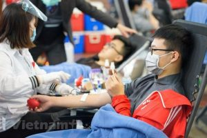Red Spring Festival expects to collect over 4,000 blood units