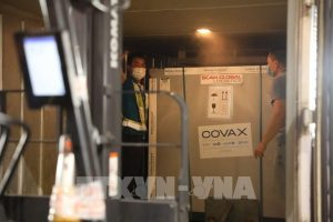 800,000 COVID-19 vaccine doses from COVAX arrive in Vietnam