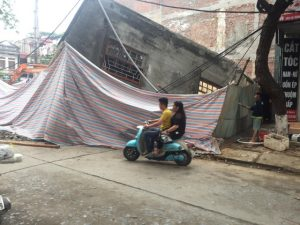 Two-floor house in Lao Cai suddenly collapses