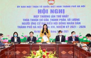Dossiers from Hanoi candidates for 15th NA election counted