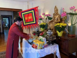 Hung Kings worship ceremony held online in Canada