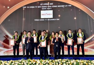 Becamex IDC recognised as Top 10 Prestigious Industrial Real Estate Companies
