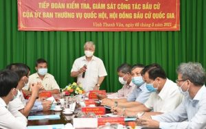 Front leader examines election preparations in Kien Giang