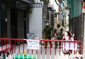 Saigon alley cleared as hundreds exposed to man with positive retest found negative for coronavirus