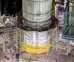 Vibration tests for Moon rocket help ensure safe travels on road to space