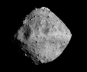 Asteroid sample brought back to Earth gets a close-up look at Brown