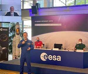 German ESA astronaut Matthias Maurer is ready for his first ISS mission - 'Cosmic Kiss'