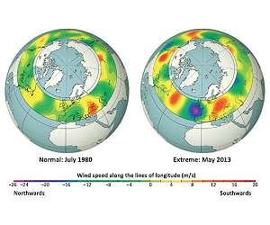 Jet stream changes could amplify weather extremes by 2060s