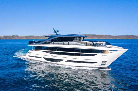 Princess Yachts provided a new level of design and sophistication at the 2021 Cannes Yachting Festival