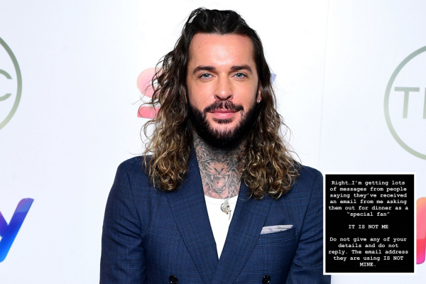Towie's Pete Wicks targeted by impersonator asking people out on dates in his name