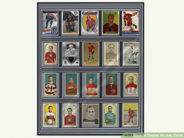 How to Display Hockey Cards