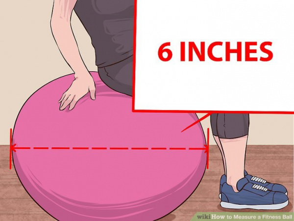 How to Measure a Fitness Ball