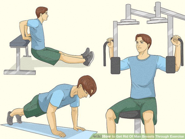 How to Get Rid Of Man Breasts Through Exercise