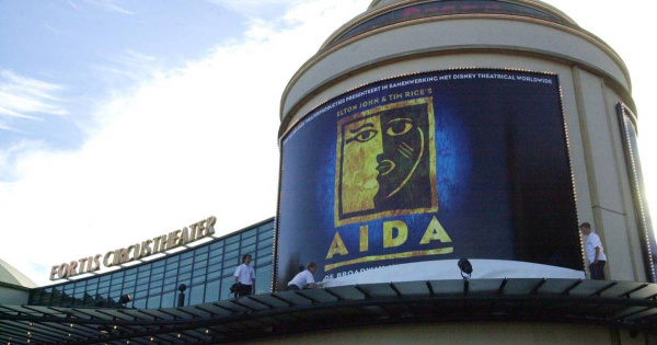 Extra reunion concert Aida with old cast