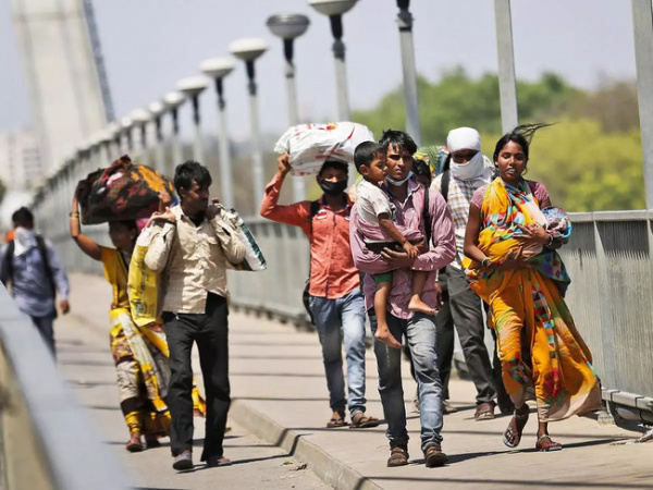 labour migration IN inDIA, migrant workers, labour migration patterns, central government, rEVERSE MIGRATION, Money transfers to farmers, WORKERS IN AGRICULTURE, cyclical demand, local hiring