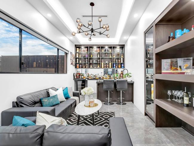 six-bedroom house at Box Hill,  Inside Karl Stefanovic's waterfront mansion