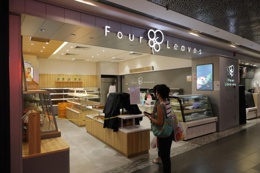 All staff at Four Leaves bakery in Ion Orchard quarantined after Covid-19 case found; outlet closed temporarily