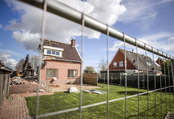 Groningen gas: 80% of the homes in this village are being demolished